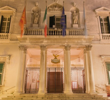 Venice - Teatro la Fenice at night